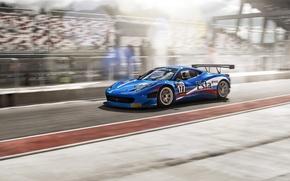 Picture Ferrari, race, ferrari 458 italia, fia gt3