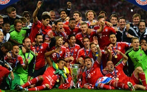 Picture Bayern, Football, Champions League, Champions League, UEFA, Wembley, Bayern, Champions, UEFA, Munchen, TheChampions