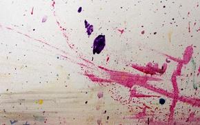 Wallpaper squirt, wall, paint, drops