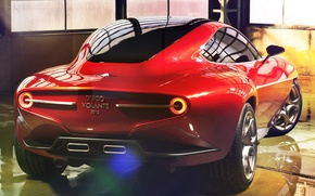 Wallpaper Flying Disc, SuperLeggera, Touring, the concept, Concept, 2012