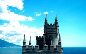Picture sea, Crimea, swallow's nest