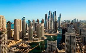 Picture construction, building, Dubai, UAE