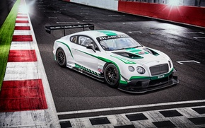 Wallpaper Bentley, Continental, GT3, Bentley, continental