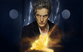 Picture look, light, hand, glow, art, male, Doctor Who, Doctor Who, harsh, Peter Capaldi, Peter Capaldi, …