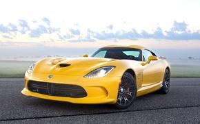 Picture Dodge, Viper, yellow, Srt-10