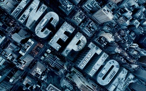 Wallpaper the city, fiction, the film, beginning, Inception