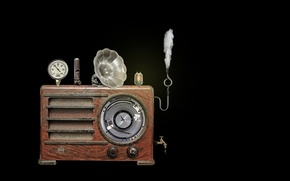 Picture machine, background, aparat
