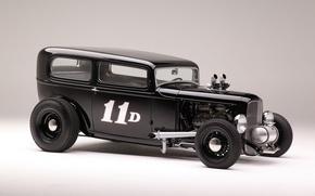 Picture Ford, car, Hot Rod, 1932, Sedan, Tudor