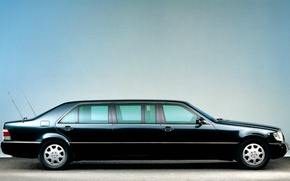 Picture mercedes-benz, s600, w140, pullman