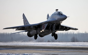 Wallpaper MiG-29UB, the Russian air force, OKB MiG