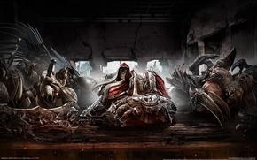 Picture sword, War, Darksiders, fraternization