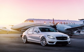 Picture the plane, tuning, Mercedes, Mercedes Benz CLS