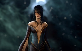 Wallpaper Morrigan, witch, mage, Dragon Age: Inquisition