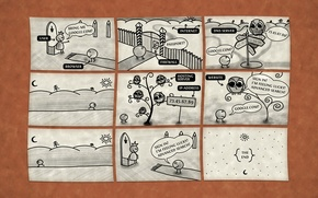 Wallpaper vladstudio, comic, Internet