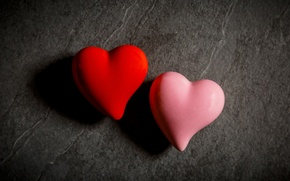 Picture macro, heart, pair, hearts