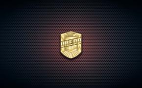 Picture cinema, logo, 2012, eagle, movie, film, justice, Dredd, badge, distinctive, law, judge, HQ, by remaining …
