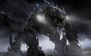 Picture transformers, robot, a Decepticon