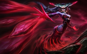 Picture League of Legends, Ice Witch, lissandra, bloodstone