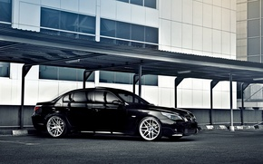 Picture tuning, BMW, black, bmw 5