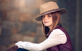 Picture hat, freckles, Julia Altork, Ava Jane