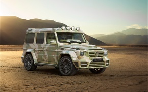 Picture W463, 2015, Mercedes-Benz, g, Mansory, AMG, Gaelic, Mercedes, Sahara Edition, G 63