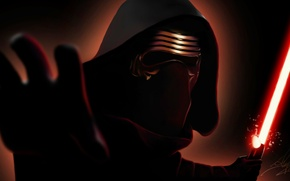 Wallpaper Star wars, Star Wars, art, Kylo Ren