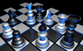 Picture the game, color, chess, the volume, figure