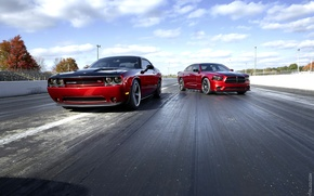 Picture View, Dodge, Tuning, Road, Muscle Cars, Challenger Srt, Dart Gt, Scat Pack, Charger Srt