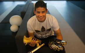 Picture star, real madrid, real Madrid, stars, Monaco, Colombia, Golden boot, James Rodriguez, Colombian