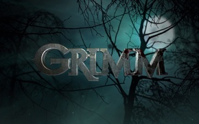Picture dark, moon, blood, tree, fog, series, evil, darkness, TV serie, television series, Grimm, tales of ...