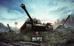 Picture World of Tanks, PT-ACS, World Of Tanks, T110E4, Wargaming Net, Tank destroyer, Flash, WoT: Blitz, …