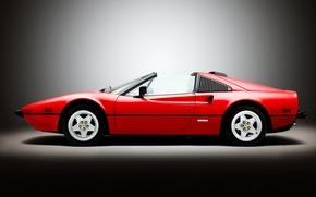 Picture red, Ferrari, Ferrari, supercar, Quattrovalvole, us-spec, 308 GTS