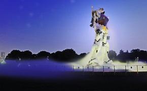 Picture Japan, anime, robo, Gundam, statua