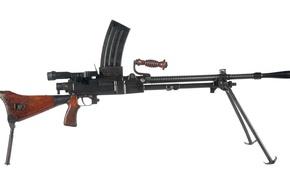 Picture weapons, machine gun, manual, Japanese, Type 96