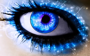 Picture blue, eye, pupil