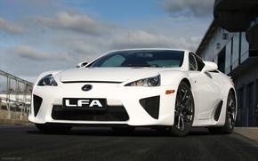 Picture Lexus, track, lfa