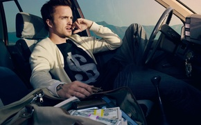 Picture Aaron Paul, breaking bad, need for speed, breaking bad, need for speed