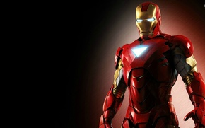 Picture man, iron, stark