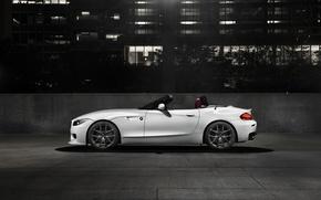 Picture car, auto, BMW, Roadster, bmw z4