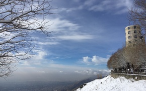 Picture Snow, mountain, friday, Tehran