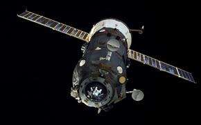 "Picture space, ship, Cargo, ""Progress M-27M"""