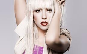 Wallpaper blonde, Singer, Lady gaga, photo Wallpaper