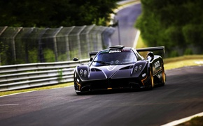 Picture Pagani, Zonda, Nursburgring, Racing track, Racord, Green HELL, Nordshlaife