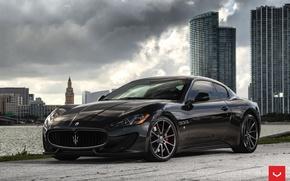 Picture Maserati, GranTurismo, Vossen, Wheels, 2016