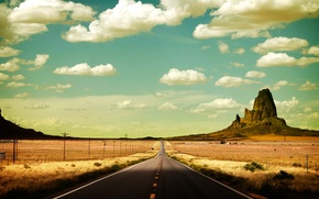 Picture road, States, Prairie
