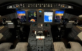 Picture Challenger 605, BOMBARDIER, Flight Deck