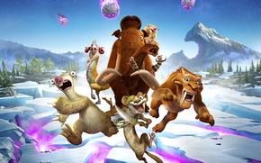 Picture Ice Age, Crash, Blue Sky, Tiger, Buck, Animation, Seann William Scott, 20th Century Fox, Diego, …