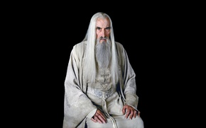 Picture background, black, the Lord of the rings, the lord of the rings, Saruman, Saruman