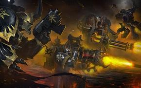 Picture Warhammer 40000, Chaos, space marine, black legion, Eternal Crusade, word bearers, night lords, iron warriors, ...