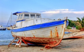 Picture sea, boat, misc